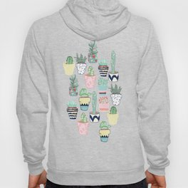 Cute Cacti in Pots Hoody