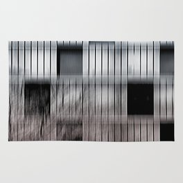 Abstract facade Rug