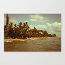 Vintage Maui 2 Canvas Print