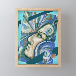 The power of your mind Framed Mini Art Print