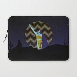 Desert goddess at night Laptop Sleeve