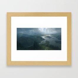 Arkham Framed Art Print