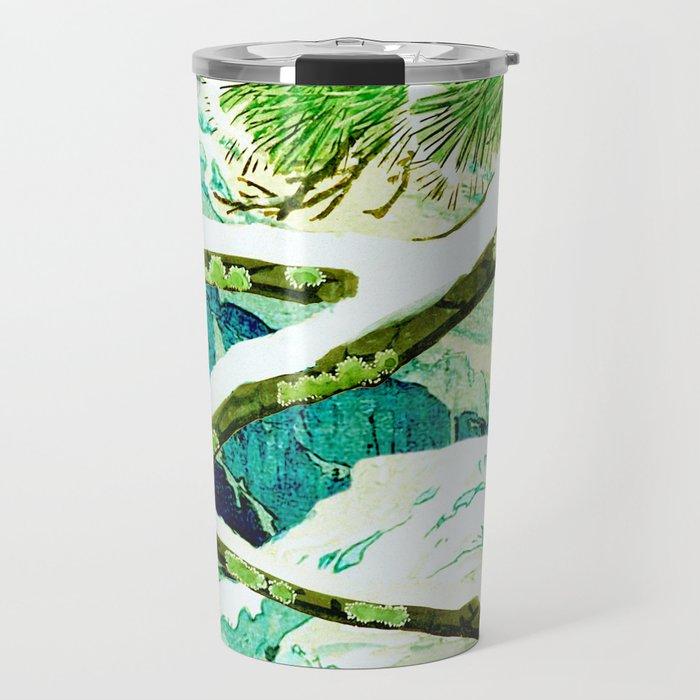 The Winter Green Travel Mug