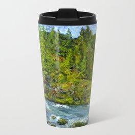 South Umpqua River, Oregon Metal Travel Mug