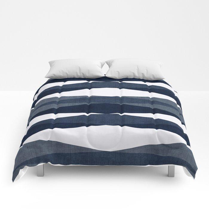 Harar in Navy Blue Comforters