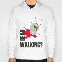 walking dead Hoodies featuring dead walking by Tudisco