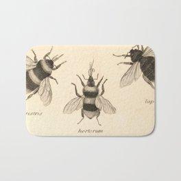 Naturalist Bees Bath Mat
