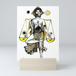 Libra Lady Mini Art Print