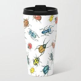 Beetles Travel Mug