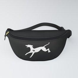 Greyhound Dog Love Motive I Dogs Gift Fanny Pack