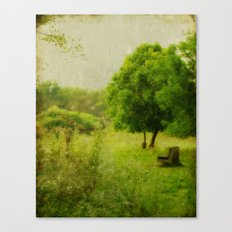 The Seat Canvas Print