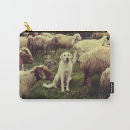 Herding dog, male, south of Israel, scaned sx-70 Polaroid Carry-All Pouch