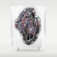 shell Shower Curtains featuring Shell by Kayla McIntosh