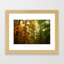 Mysterious Fall Framed Art Print