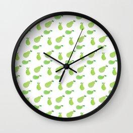 WATERCOLOUR PEAR Wall Clock
