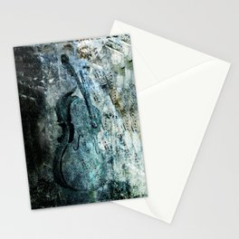 adagio for a broken dream Stationery Cards