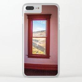 Hurd Round House, Wells County, North Dakota 34 Clear iPhone Case