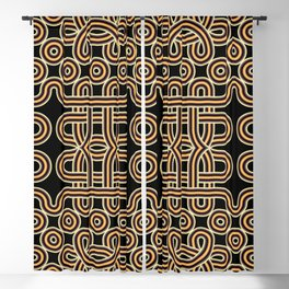 Ethnic knot Blackout Curtain