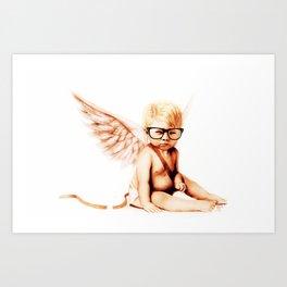 Stupid Cupid Art Print