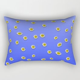 Scattered Daisies Rectangular Pillow