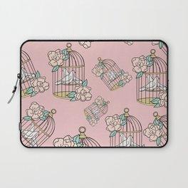 Plant-Lover-Pink-Palette Laptop Sleeve