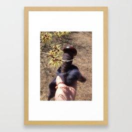 Witch Hazel & BFL Framed Art Print