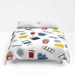 Cinema movie pattern Comforters