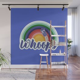 Retro Whoops Wall Mural