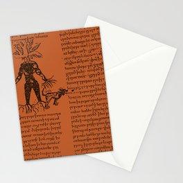 Medieval Mandrake / Bronze Stationery Cards