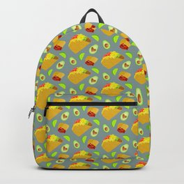 Mexican Food Pattern Backpack