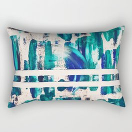 """""""Waves"""" Collaborative Study Rectangular Pillow"""