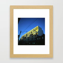 Buildings on Bloor Framed Art Print
