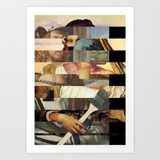 Mona´s Mix 4  Art Print