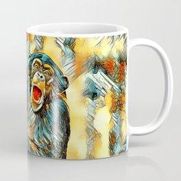 AnimalArt_Chimpanzee_20170901_by_JAMColorsSpecial Coffee Mug