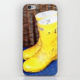 Wicker & Wellies iPhone Skin