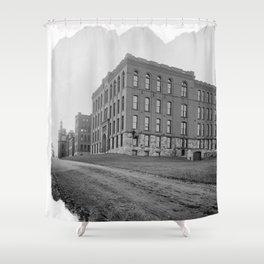 Salisbury Laboratories Shower Curtain