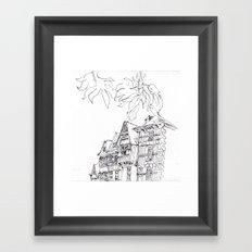 a few timber frames Framed Art Print