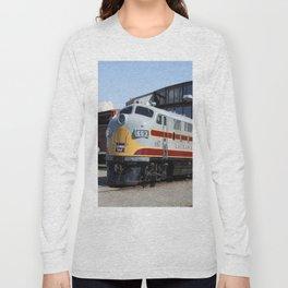 Engine 664 Lakawanna Railroad Long Sleeve T-shirt