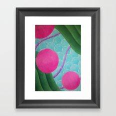 Earth Splitter Framed Art Print