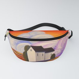 Graffiti Farm - folk art painting Fanny Pack