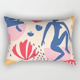 red blue yellow Rectangular Pillow