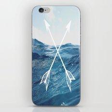 Deep sea arrows iPhone & iPod Skin
