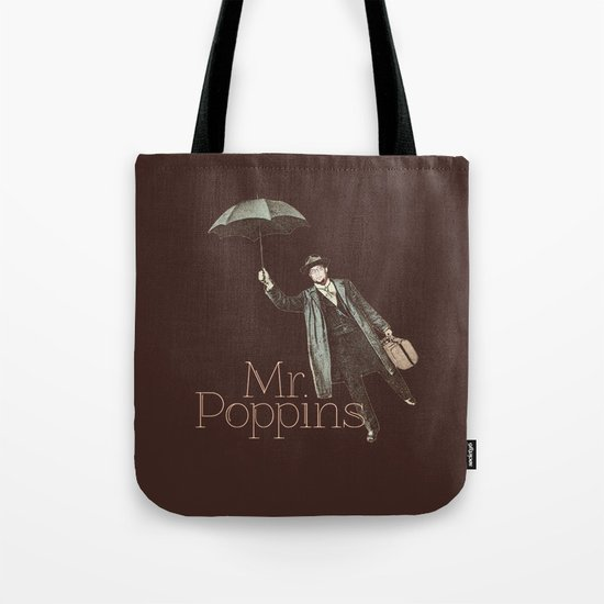 Mr. Poppins Tote Bag