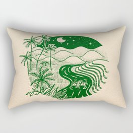 Memories of the Philippines Rectangular Pillow