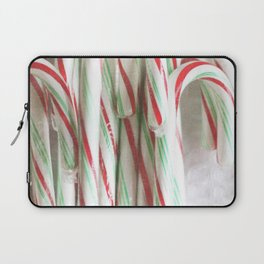 Candy Cane Stash Laptop Sleeve