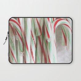 Candy Cane Stash Laptop Sleeve