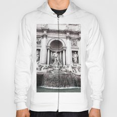 I wished for happiness - trevi fountain Hoody