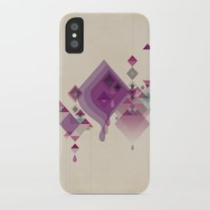 Abstract illustrations iPhone X Slim Case