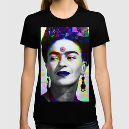 Frida Kahlo iridescence T-shirt