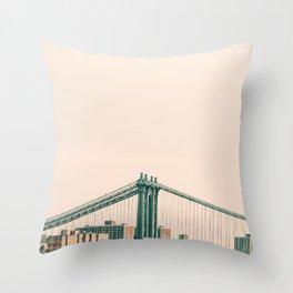Bridges Of NYC Part 2 Throw Pillow